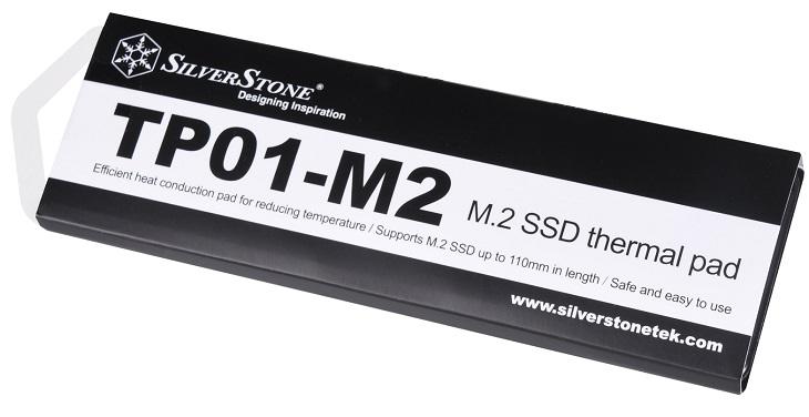 Теплопроводность SilverStone TP01-M2 составляет 4 Вт/(м∙К)