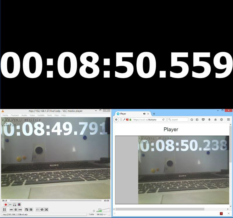 Браузерная WebRTC трансляция с RTSP IP-камеры с низкой задержкой - 26