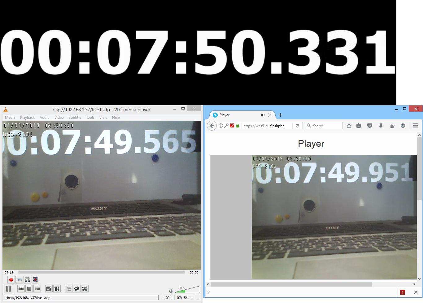 Браузерная WebRTC трансляция с RTSP IP-камеры с низкой задержкой - 27
