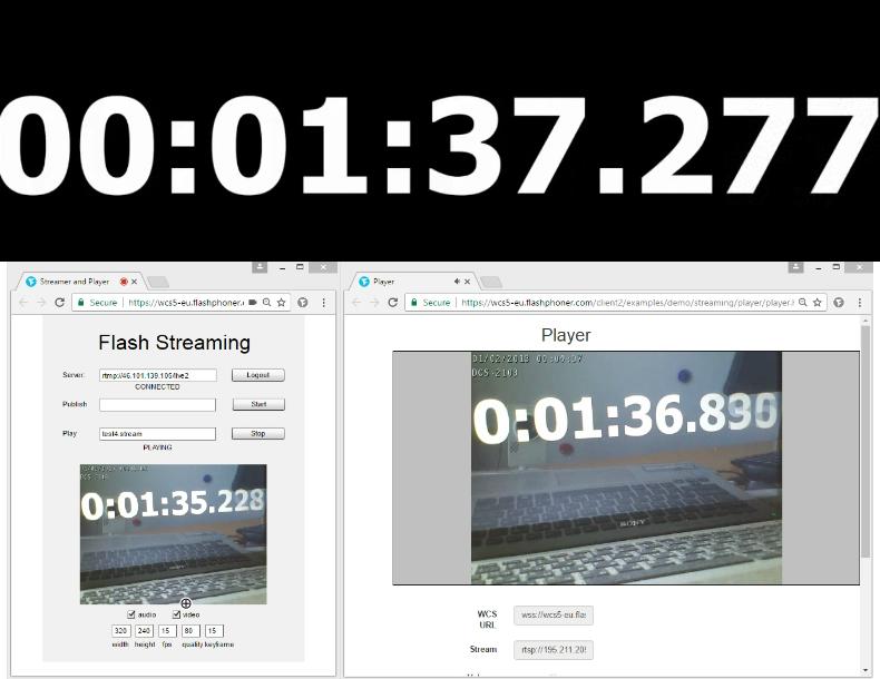 Браузерная WebRTC трансляция с RTSP IP-камеры с низкой задержкой - 29