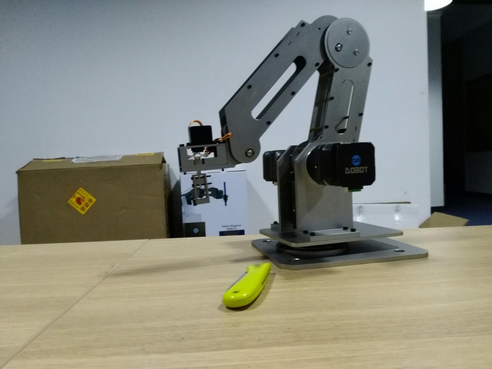 Обзор SCARA-based робота-манипулятора Dobot M1 или как совместить паяльного робота и тестомешалку - 1