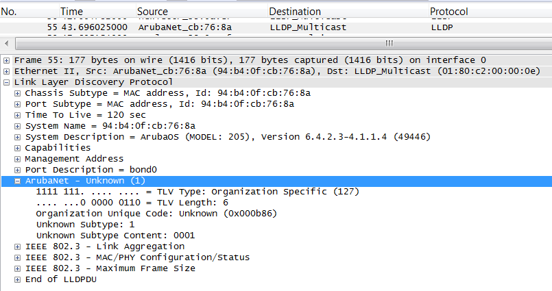 Обзор семейства коммутаторов HPE Aruba, новые возможности ArubaOS 16.X - 12