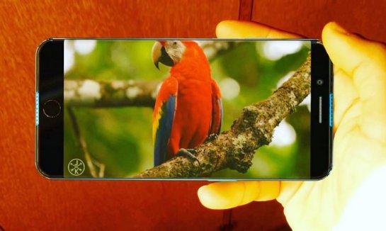 Вот каким может быть iPhone 8