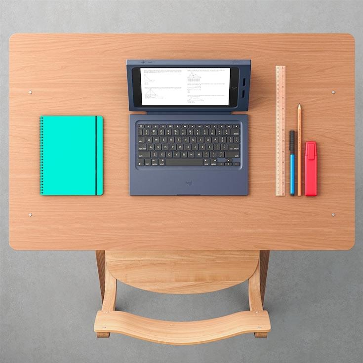 Защитный чехол Logitech для нового планшета Apple iPad адресован школьникам и студентам