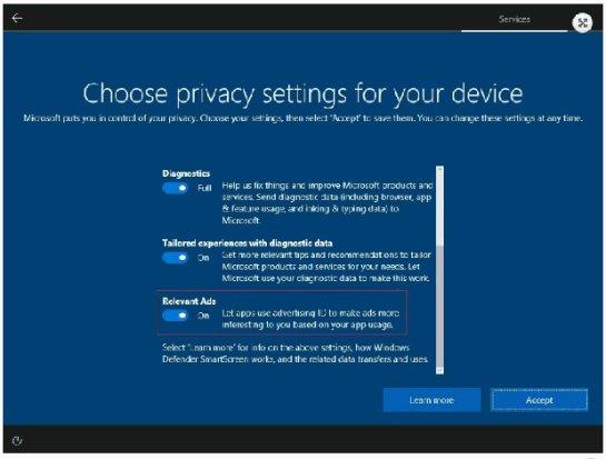 Microsoft внедрила в Windows 10 скрытую настройку