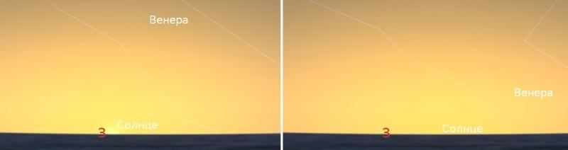 Неделя Венеры в северном полушарии - 3