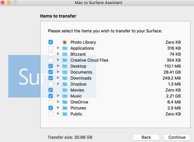 Выпущено приложение, которое упрощает переход с Mac на Surface