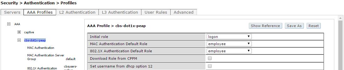 Интерфейсы контроллеров HPE Aruba и Cisco - 7