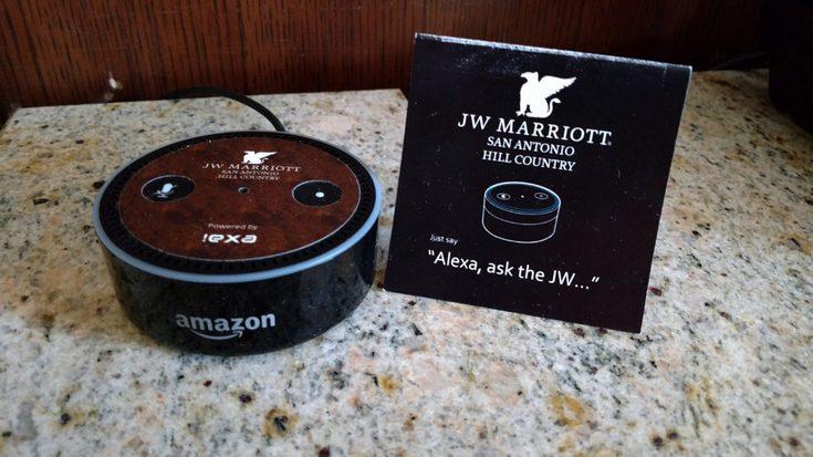 Отели Marriott International оснастят либо устройствами с Alexa, либо аппаратами с Siti