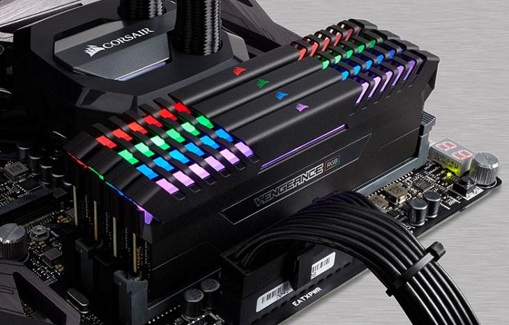 Планки Corsair Vengeance RGB DDR4 достигли частоты 3 ГГц