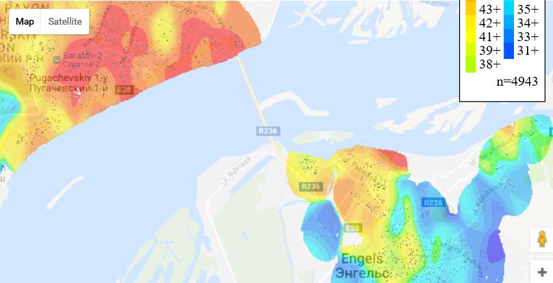 Статистика по стоимости недвижимости — визуализация на карте - 10