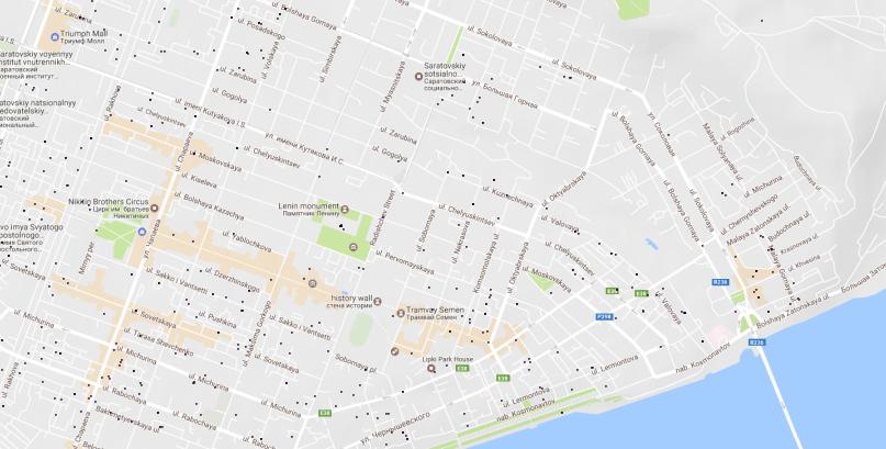Статистика по стоимости недвижимости — визуализация на карте - 7