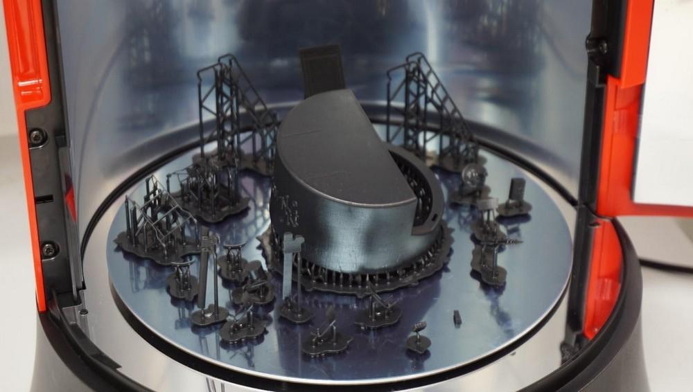 Обзор полимеризационной камеры XYZPrinting - 11