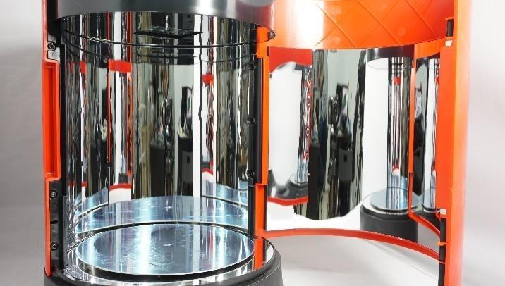 Обзор полимеризационной камеры XYZPrinting - 7