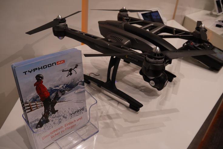 Yuneec специализируется на дронах