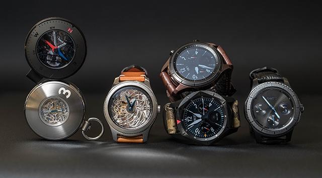 Samsung показала несколько концептов умных часов на базе Gear S3