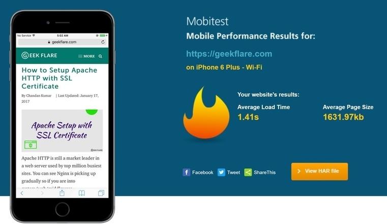 А вы знаете скорость загрузки вашего сайта с мобильных устройств? Самое время разобраться - 5