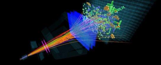 С помощью большого адронного коллайдера ученые открыли 5 новых субатомных частиц