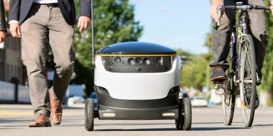 Роботы-курьеры получили «разрешение на работу»
