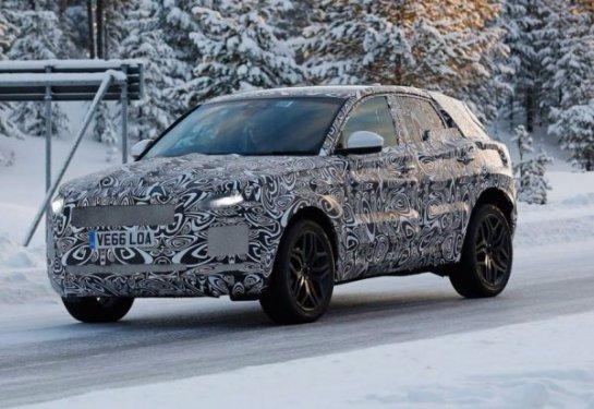 Новый Jaguar E-Pace попал в объектив фотошпионов