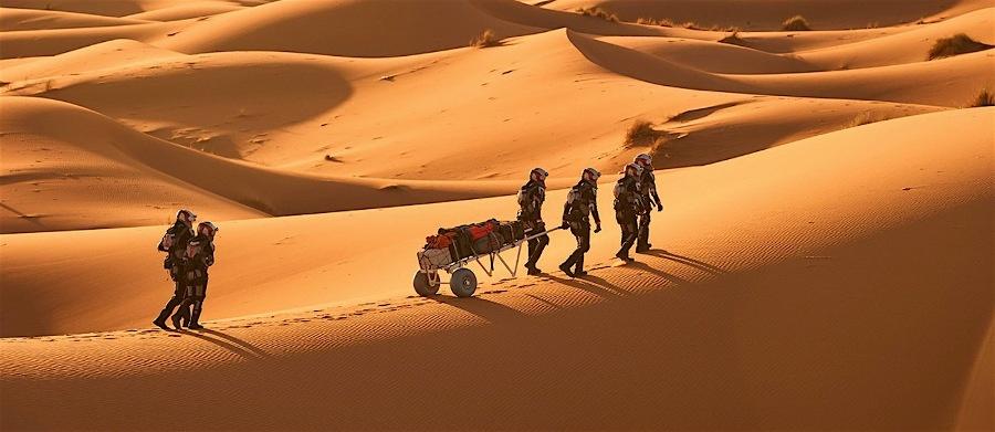Путешествие на Марс: что может случиться с космонавтом на пути к планете и на ее поверхности - 4