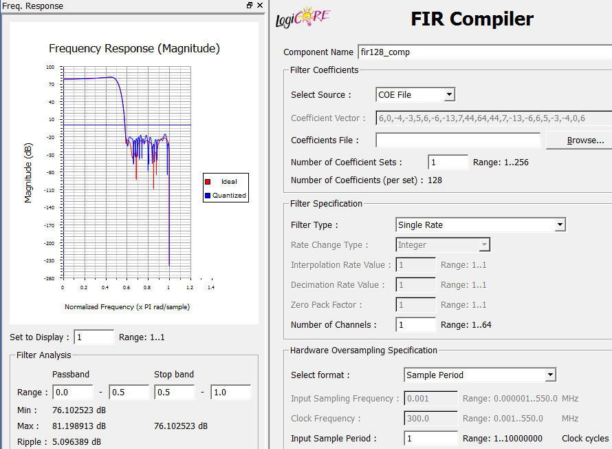 Расчет корректирующего КИХ-фильтра на ПЛИС - 11