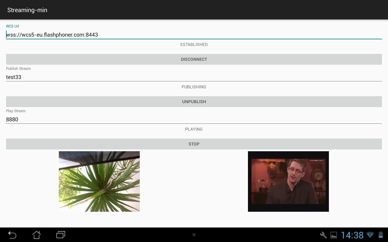 Разрабатываем видеочат между браузером и мобильным приложением - 12