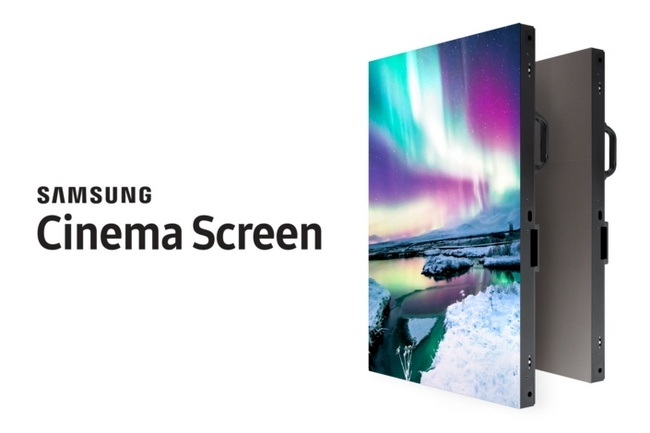 Дисплей Samsung Cinema Screen диагональю 10 м составит конкуренцию кинотеатральным проекторам