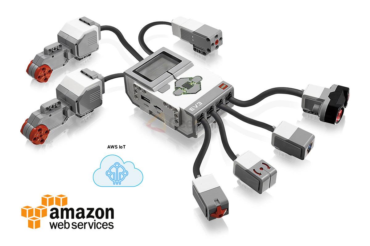 Как создать интернет вещей из «кирпичиков» LEGO на базе платформы AWS IoT - 1