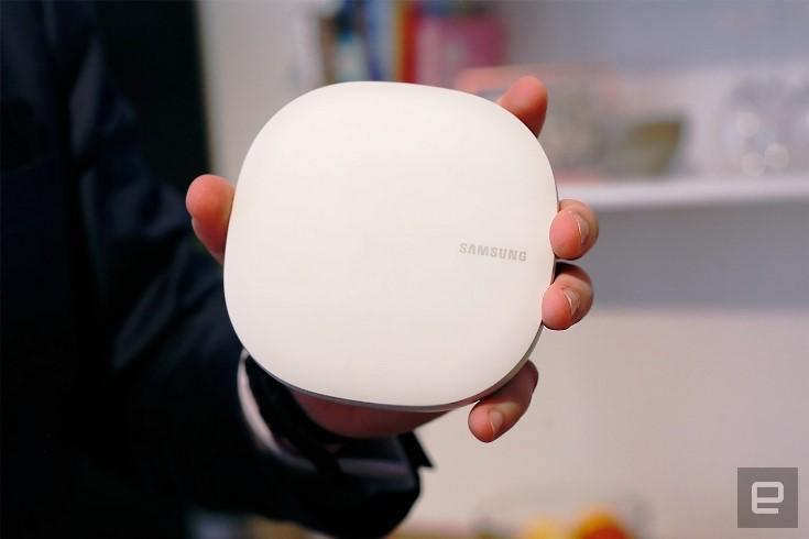 Представлен роутер Samsung Connect Home Smart Wi-Fi System
