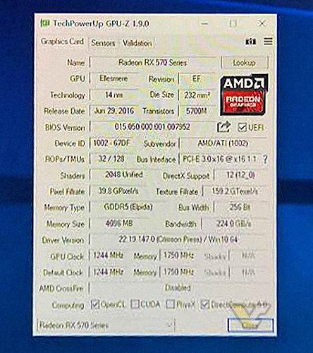 Видеокарта Radeon RX 580 получит новую печатную плату