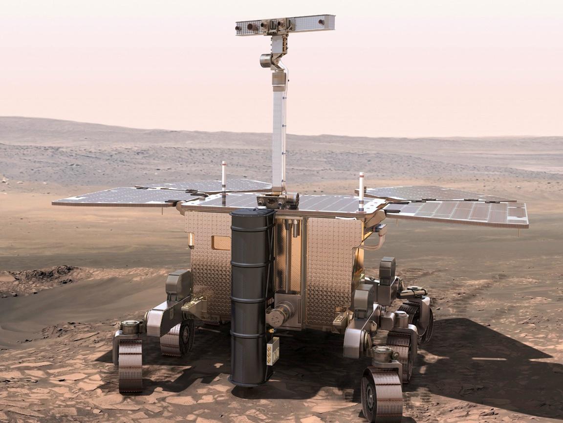 Определены два возможных места посадки марсохода программы «Экзомарс» - 1