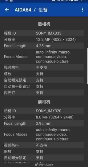 Смартфоны Samsung Galaxy S8 и Galaxy S8+ всё так же используют разные датчики для камер