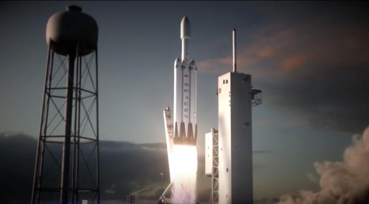 Первая ракета Falcon Heavy будет состоять из двух ранее использовавшихся бустеров