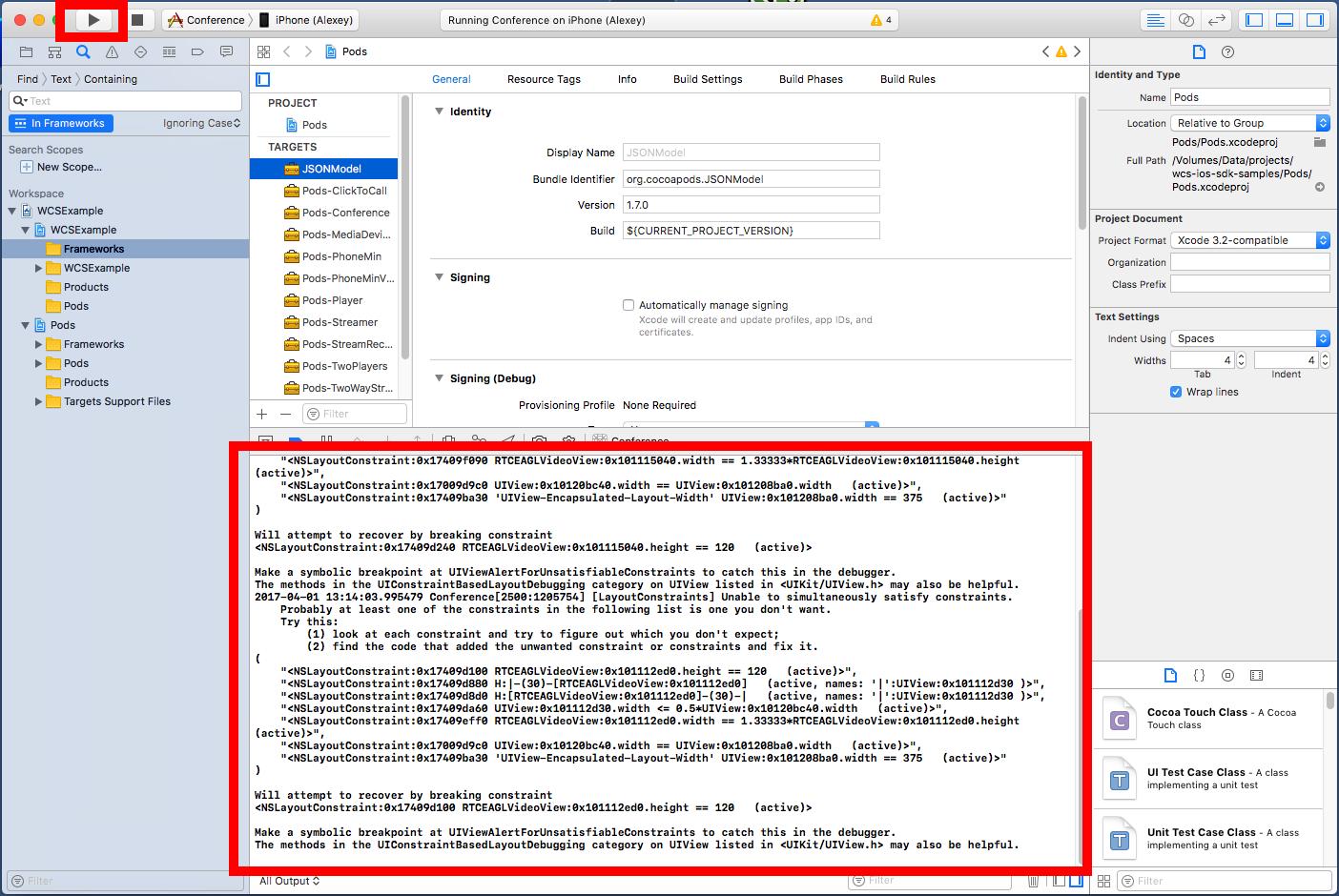 Разработка WebRTC видеочата между iOS, Android и браузером - 19