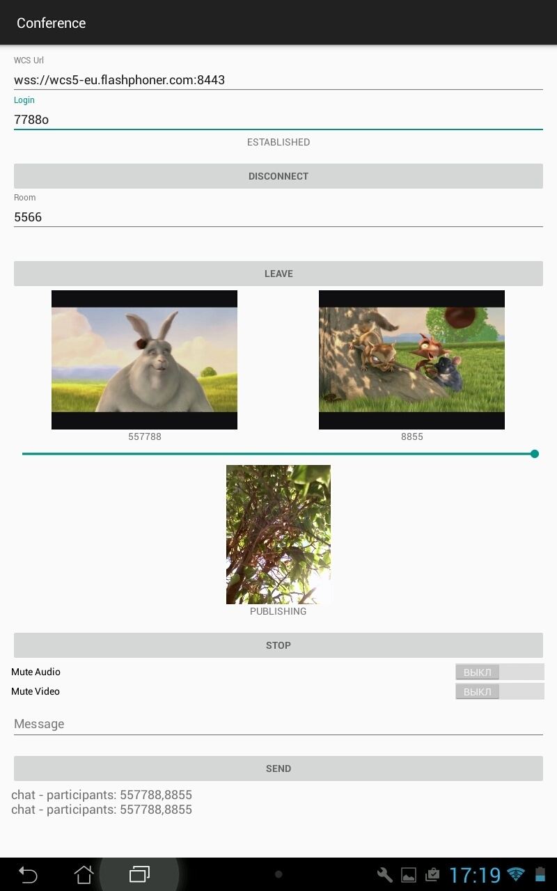Разработка WebRTC видеочата между iOS, Android и браузером - 9