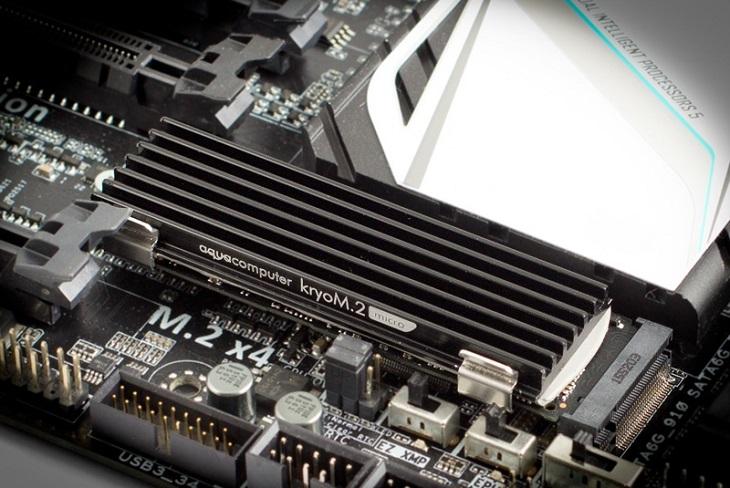 Основой комплектов Aqua Computer kryoM.2 micro и kryoM.2 evo стали алюминиевые радиаторы
