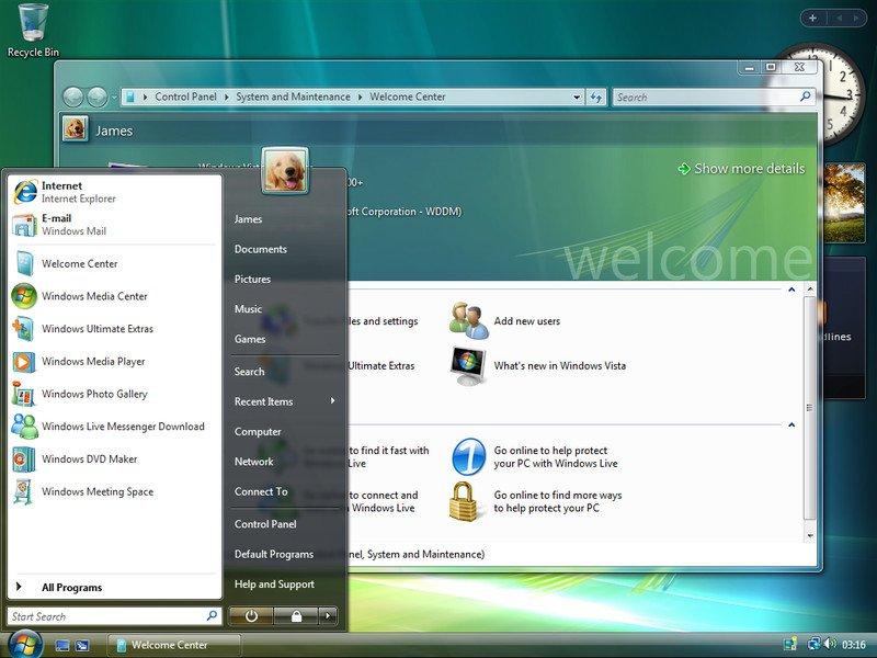 Корпорация Microsoft завершила поддержку ОС Windows Vista - 2