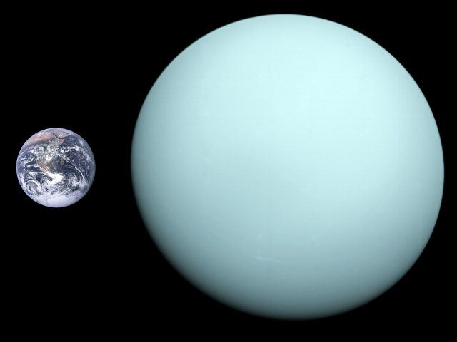 НАСА опубликовало снимки полярного сияния на Уране - 2