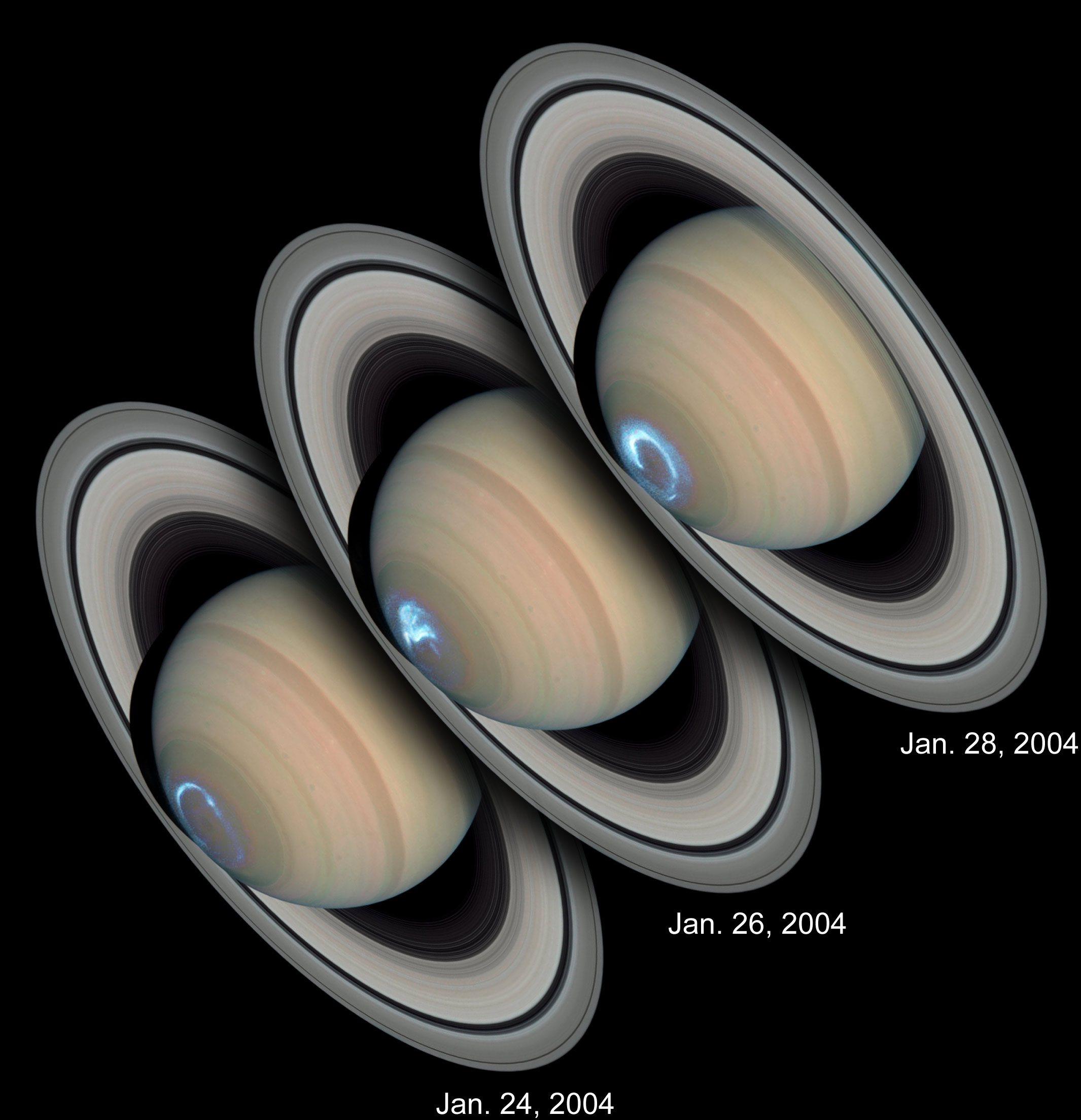 НАСА опубликовало снимки полярного сияния на Уране - 3