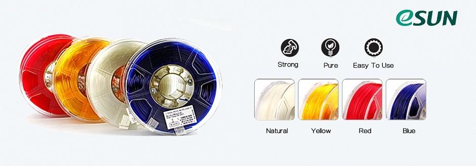 Обзор материалов для 3D-печати ESUN - 8