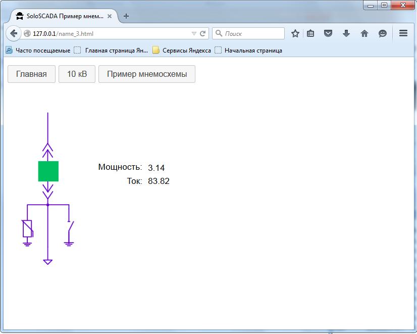 Первые шаги к Web SCADA-системе. Оживляем мнемосхему в браузере с помощью AngularJS - 2