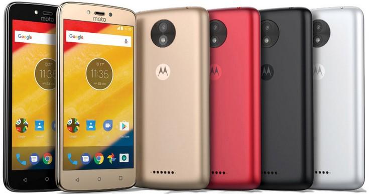 Смартфон Moto C Plus получит экран HD