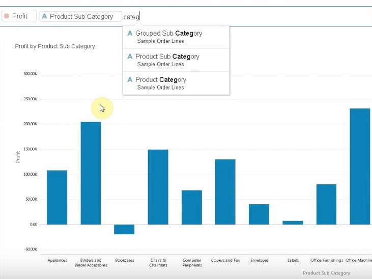 Data Visualization: Data Discovery от Oracle BI - 5
