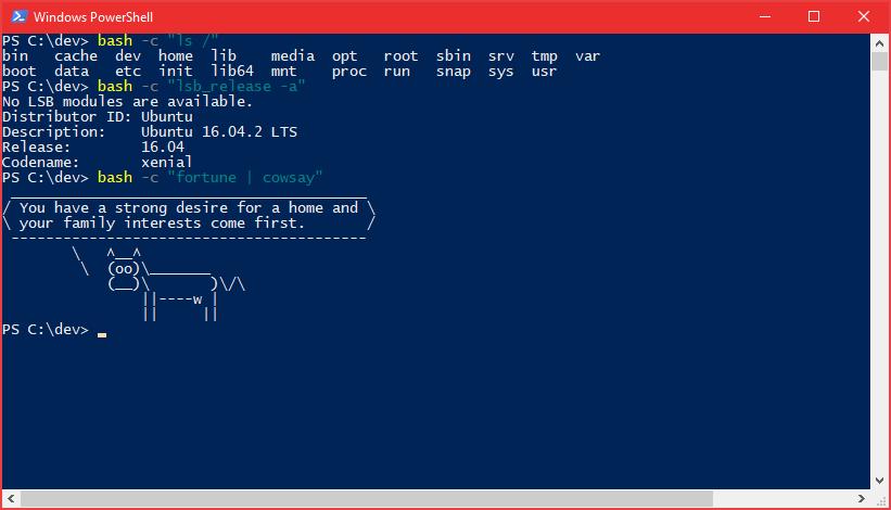 Windows 10 Creators Update: что нового в Bash-WSL и Windows Console - 5