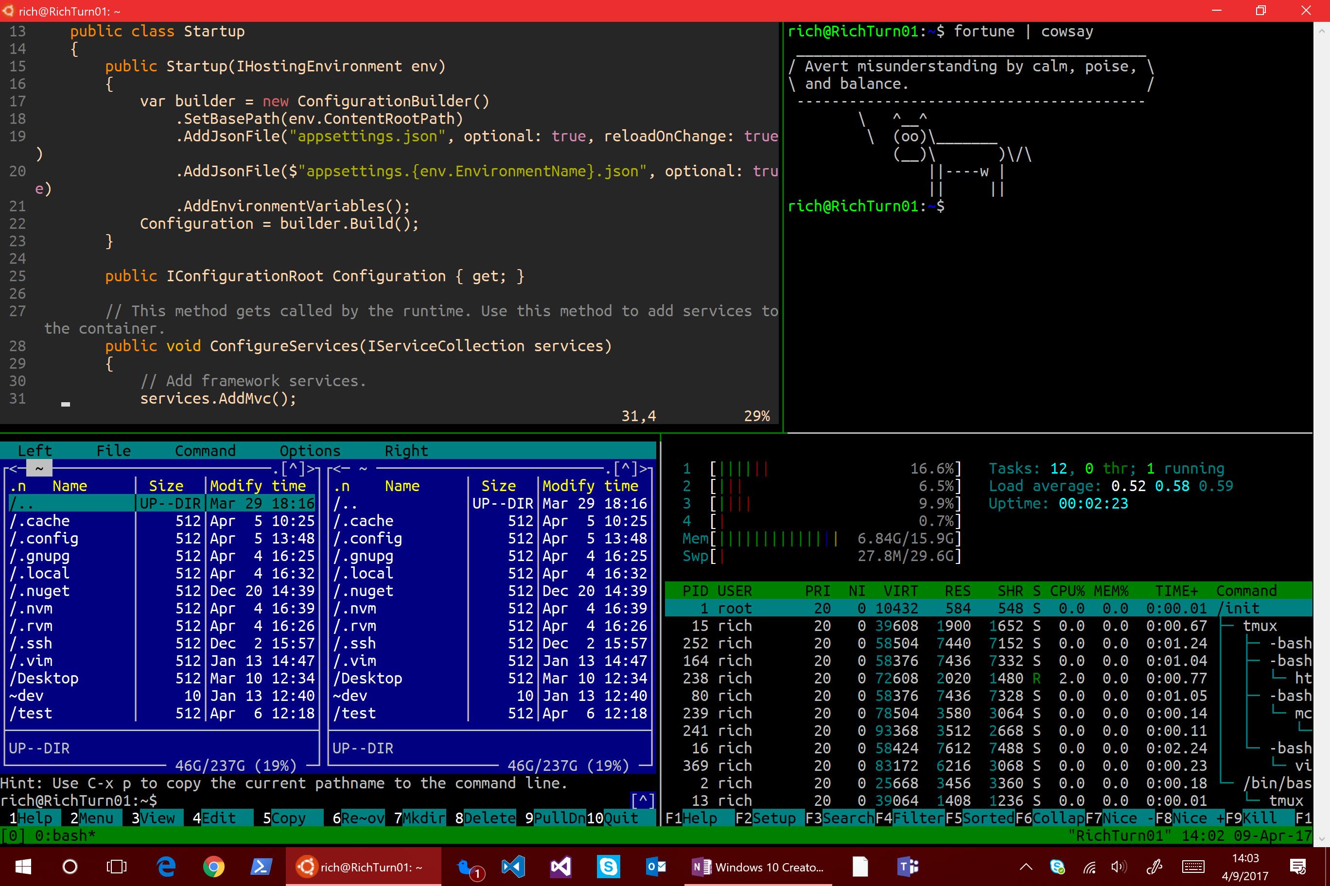 Windows 10 Creators Update: что нового в Bash-WSL и Windows Console - 6