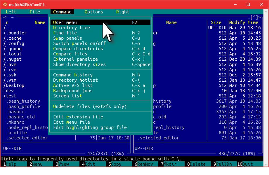 Windows 10 Creators Update: что нового в Bash-WSL и Windows Console - 8