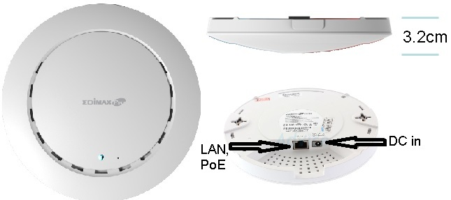 Настройка и тест роуминга на wi-fi точках доступа CAP300 - 1
