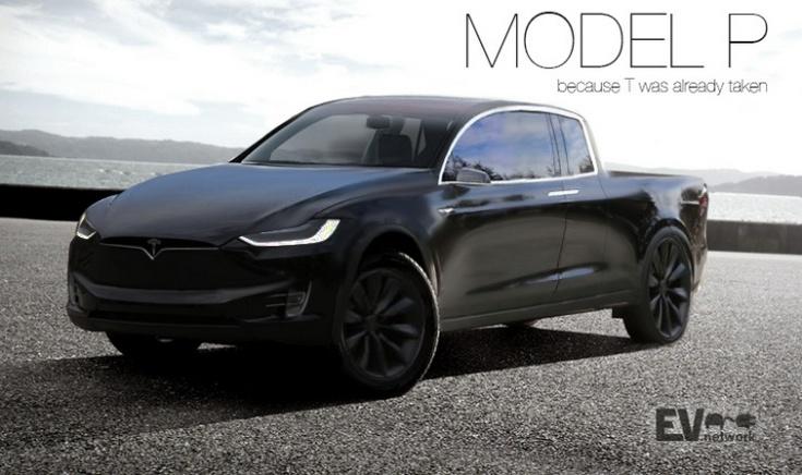 Tesla разрабатывает пикап