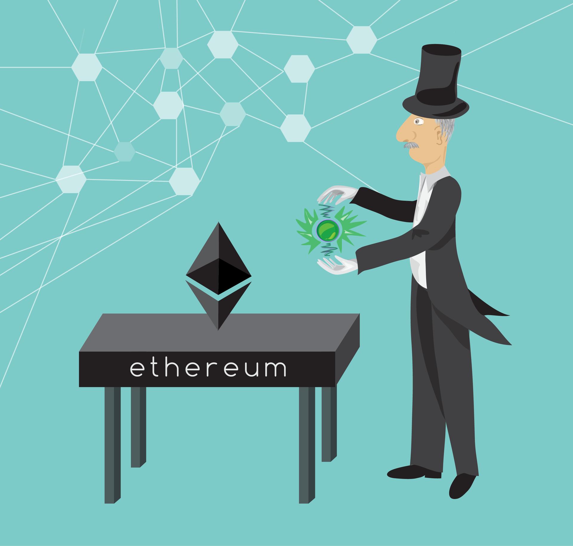Своя криптовалюта на ethereum - 1